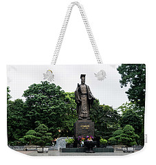 Monument To Emperor Le Thai To Weekender Tote Bag