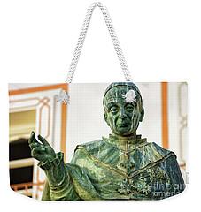 Weekender Tote Bag featuring the photograph Monument To Fray Domingo De Silos Morenos Cadiz Spain by Pablo Avanzini