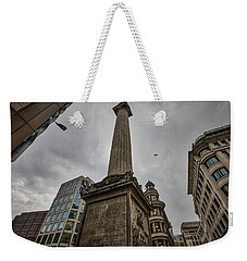 Monument To The Great Fire Of London Weekender Tote Bag