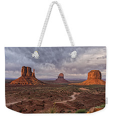 Monument Valley Mittens Az Dsc03662 Weekender Tote Bag