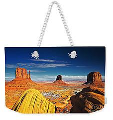 Monument Valley Mittens Utah Usa Weekender Tote Bag