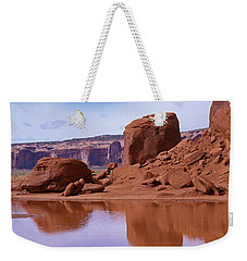 Monument Valley Reflection Weekender Tote Bag