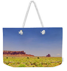 Monument Valley South View Weekender Tote Bag