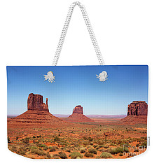 Monument Valley Utah The Mittens Weekender Tote Bag