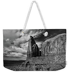 Monument Valley View Weekender Tote Bag
