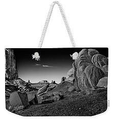 Monument Valley Rock Formations Weekender Tote Bag
