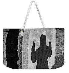 Monumental Shadows Peace Out Weekender Tote Bag
