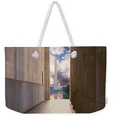 Monuments Sunrise Weekender Tote Bag