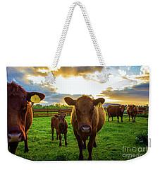Moo Weekender Tote Bag