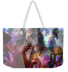 Moods In Abstract Pastel Weekender Tote Bag
