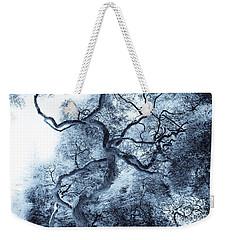 Moody Blue Weekender Tote Bag by Colleen Kammerer