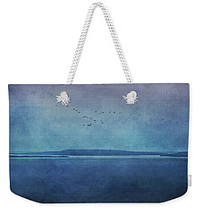 Moody  Blues - A Landscape Weekender Tote Bag