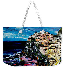 Moody Dusk In Italy Weekender Tote Bag