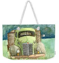 Moody Green Weekender Tote Bag