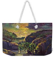 Moody Moonlight Weekender Tote Bag