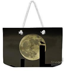 Moody Moonrise Weekender Tote Bag