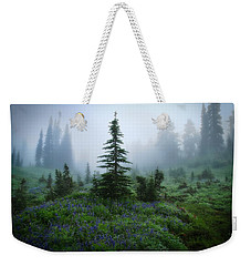 Moody Myrtle Falls Trail At Mount Rainier Weekender Tote Bag