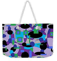 Moody Purple Weekender Tote Bag