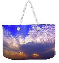 Moody Sky Weekender Tote Bag