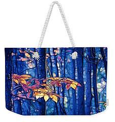 Moody Woods Weekender Tote Bag by Aimelle