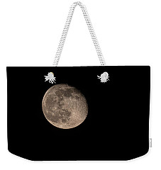 Moon 4-13-2017 Weekender Tote Bag by Thomas Young
