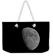 Weekender Tote Bag featuring the photograph Moon 67 Percent Fr23 by Mark Myhaver