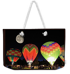 Moon And Balloons Weekender Tote Bag