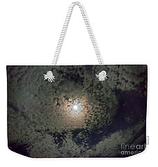 Moon And Clouds Weekender Tote Bag