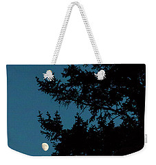 Moon And Pine Tree-signed-#0077 Weekender Tote Bag