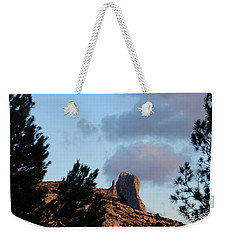 Moon And Rock Weekender Tote Bag