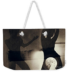 Moon And Then Weekender Tote Bag by Jessica Shelton