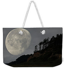 Moon At Roosevelt Beach Wa Weekender Tote Bag