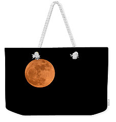 Moon Before Yule  Weekender Tote Bag