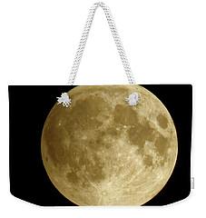 Moon During Eclipse Weekender Tote Bag