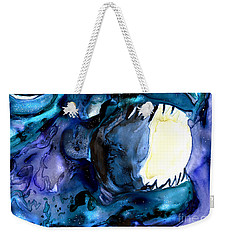 Moon Eater Dragon Lunar Eclipse Weekender Tote Bag