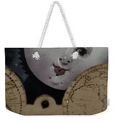 Moon Face Weekender Tote Bag