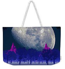 Moon Forest Weekender Tote Bag