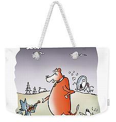 Moon Jump Weekender Tote Bag