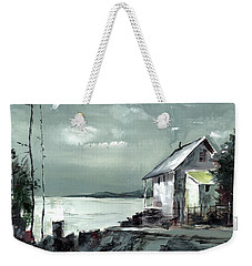 Moon Light Weekender Tote Bag
