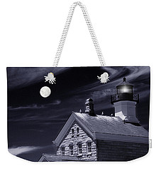 Weekender Tote Bag featuring the photograph Moon Light by Robin-Lee Vieira