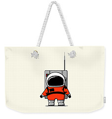 Moon Man Weekender Tote Bag