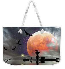 Moon Mist Weekender Tote Bag