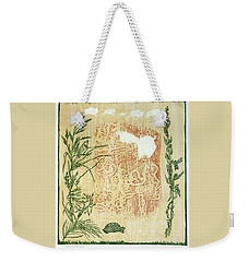 Moon Of Fatness Weekender Tote Bag
