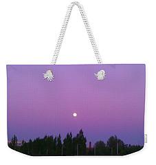 Moon On Perfect Purple Weekender Tote Bag
