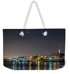 Moon Over Aquatic Park Weekender Tote Bag