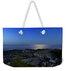 Moon Over Cadillac Weekender Tote Bag by Rick Berk