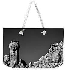 Moon Over Chimney Rock Weekender Tote Bag