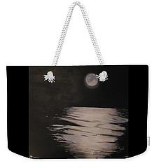 Moon Over The Wedge Weekender Tote Bag