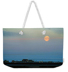 Moon Over Flow Station 1 Weekender Tote Bag