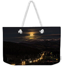 Moon Over Genessee Weekender Tote Bag